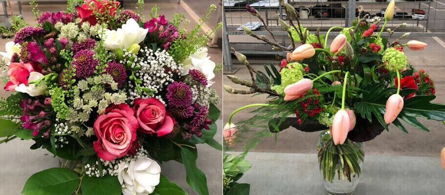Floristenprüfung im BZG Frankfurt