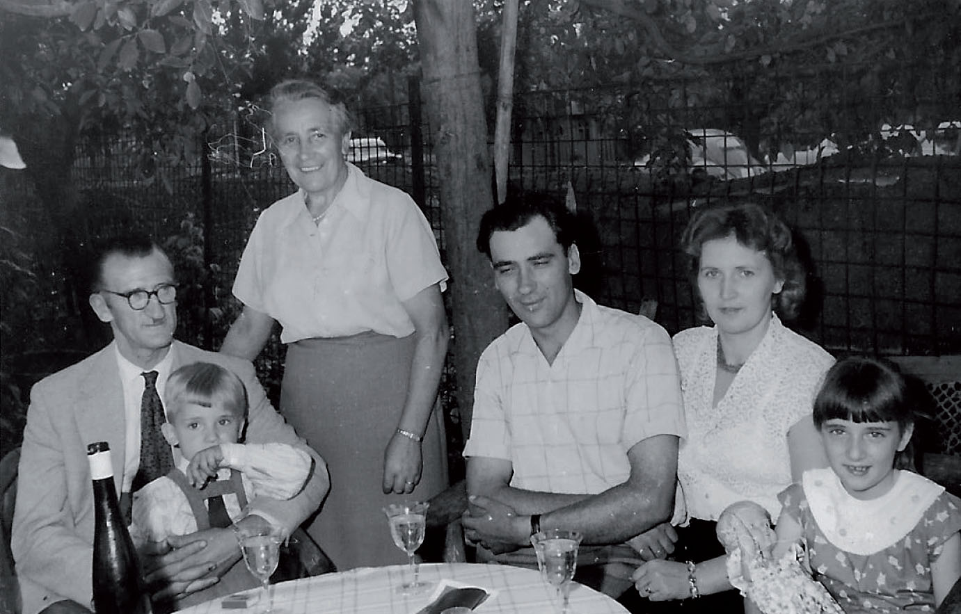 Familie Wollrab 1958