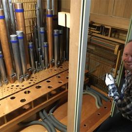 Restaurering af orglet i Nr. Omme