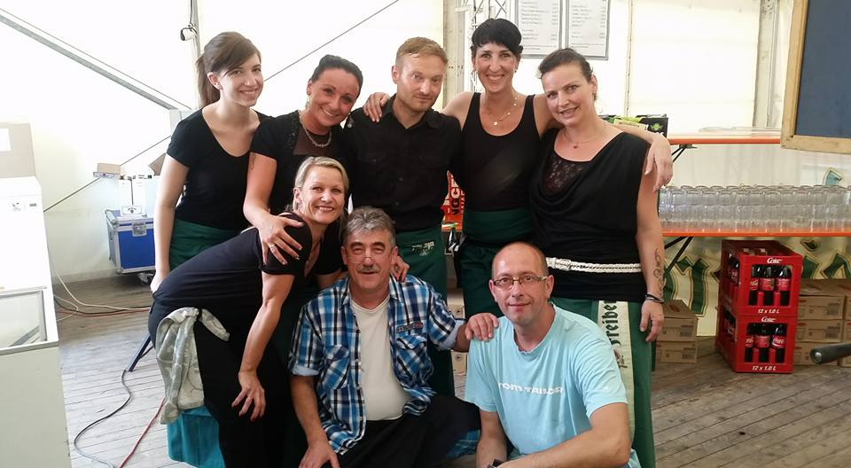 Unser Service Team Stadtfest Aue 201