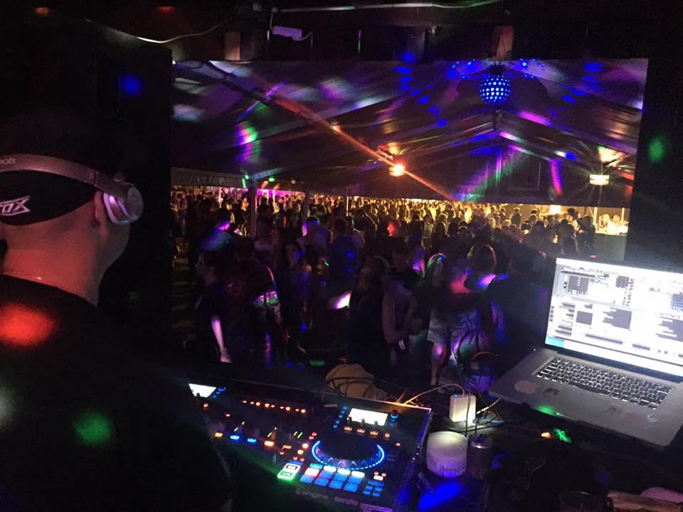 Unser DJ-Team beim Vollmondkamp 2016