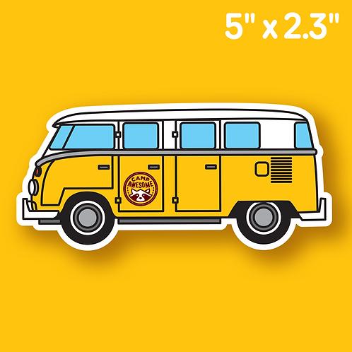 Camp Van Sticker