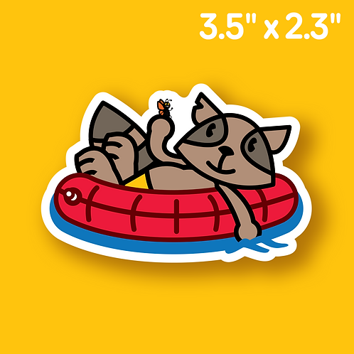 Relaxed Rusty Sticker