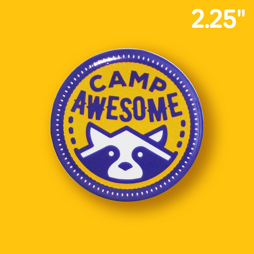 Camp Button - Purple