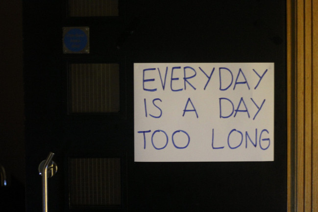everyday is a day too long