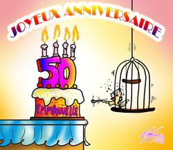 ANNIVERSAIRE 50 ans EMMANUELLE
