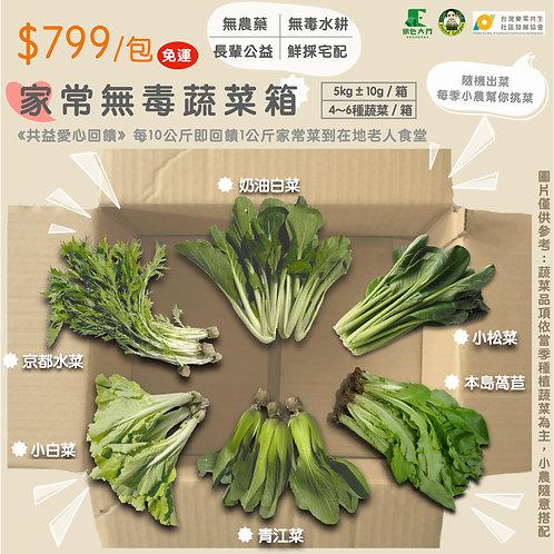 長輩公益:家常無毒蔬菜箱
