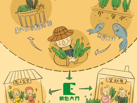 【產地到長輩的餐桌9 :不用施加化學肥料與農藥的無毒蔬菜】