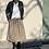 Thumbnail: Vzdušná pohodlná bavlněná sukně  - vel. M