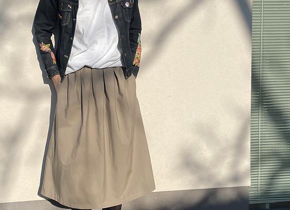 Vzdušná pohodlná bavlněná sukně  - vel. M