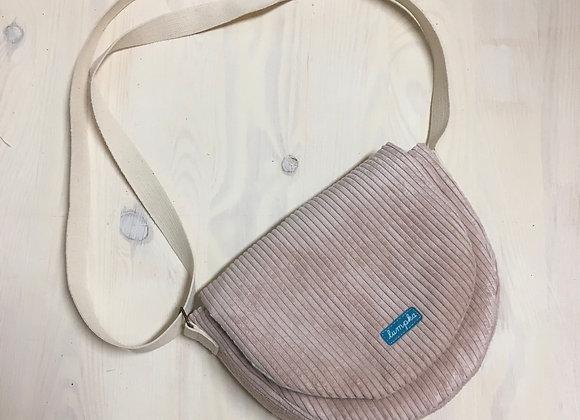 kabelka pro vetší holky - STARORUŽOVÁ
