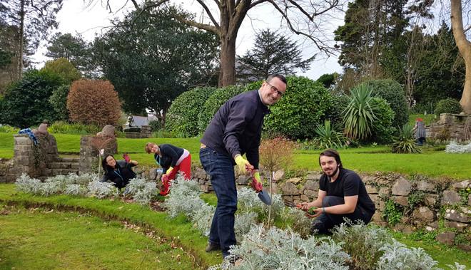 garden duties