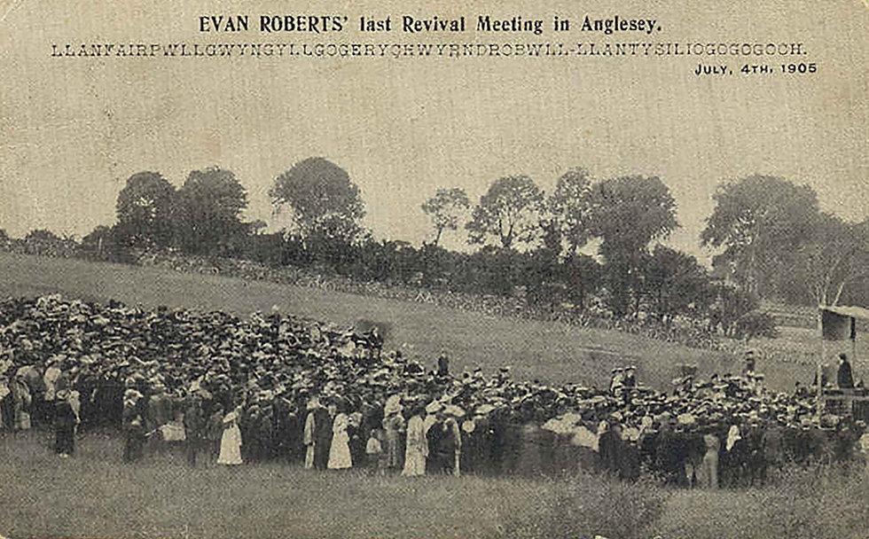 Evan Roberts Revival Meeting