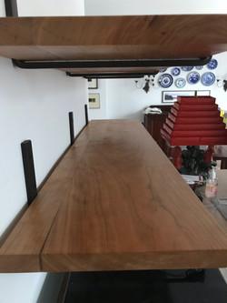 Cherry Wood Kitchen Shelf