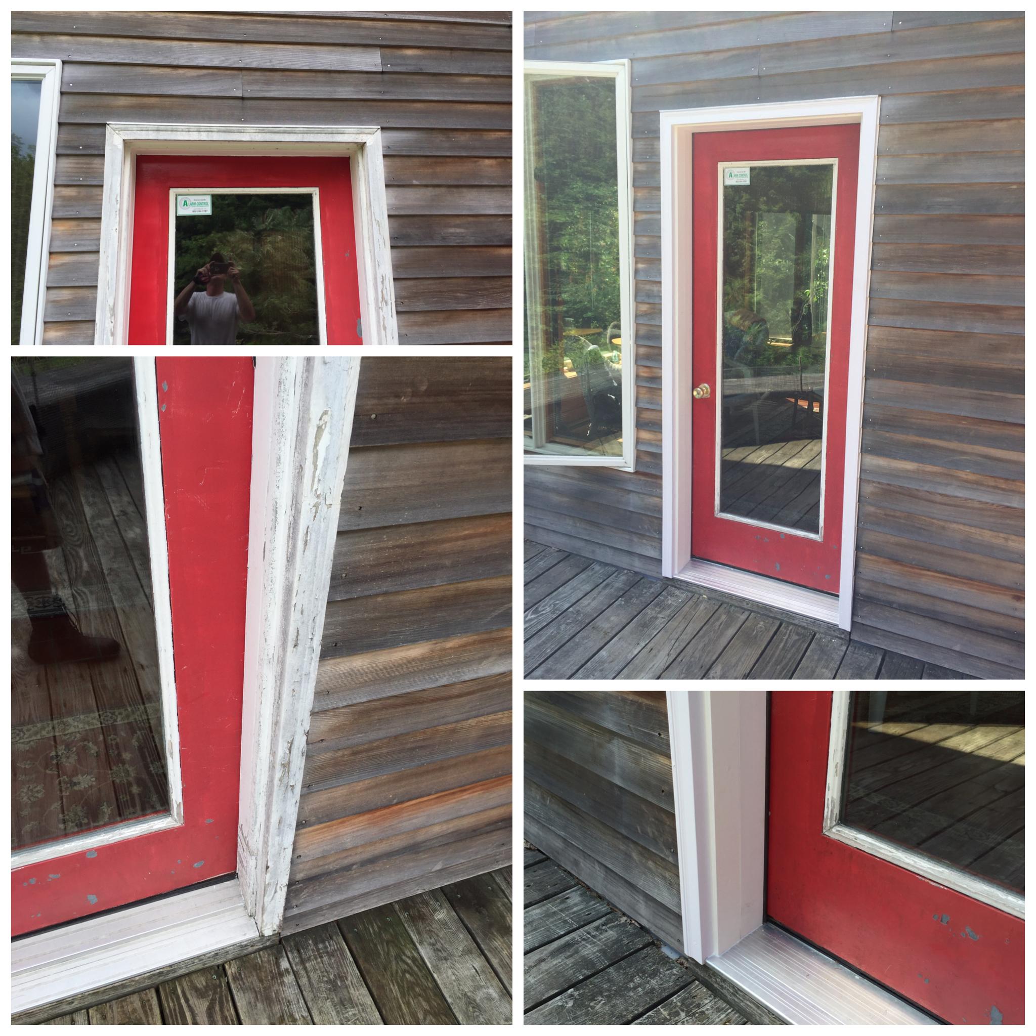 Rebuilt Door Frame