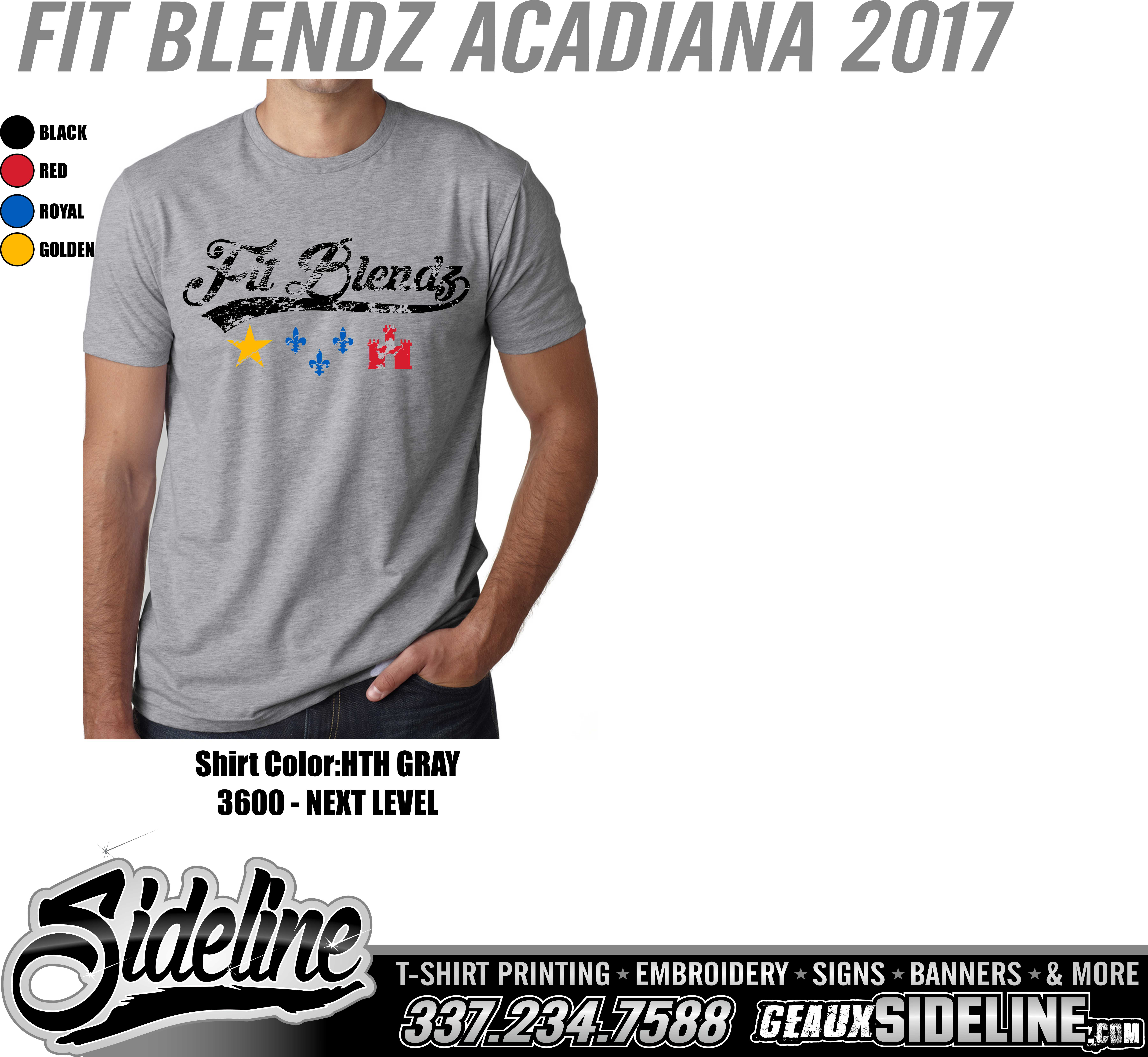 FIT BLENDZ ACADIANA 2017 - HTH GRAY