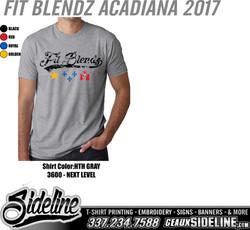 FIT BLENDZ ACADIANA 2017 - HTH GRAY