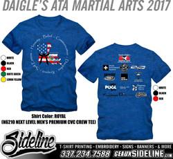 DAIGLE'S ATA MARTIAL ARTS 2017