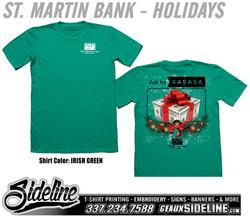 ST MARTIN BANK - HOLIDAYS