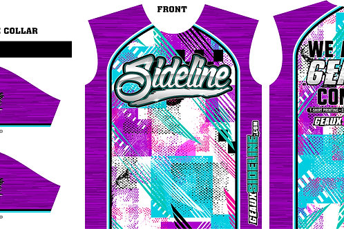 SIDELINE JERSEY - ABSTRACT