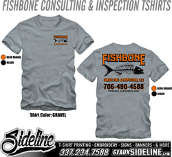 FISHBONE CONSULTING AND INSPECTION TSHIRTS