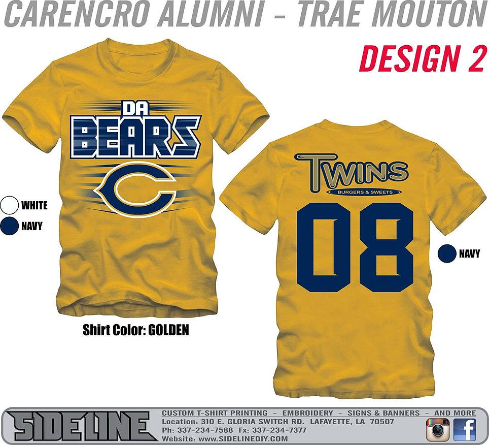Tshirt design for alumni homecoming -  640