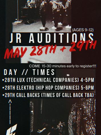 Junior Auditions 2021
