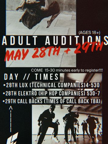 Adult Auditions 2021