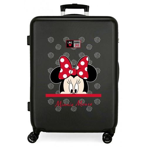 Disney My Pretty Bow Maleta de Cabina Negro 38x55x20 cms R/ígida ABS Cierre de combinaci/ón Lateral 34L 2,66 kgs 4 Ruedas Dobles Equipaje de Mano