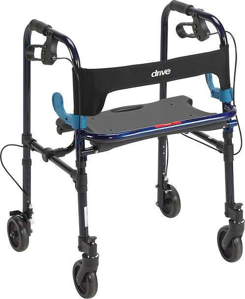 "CLEVER-LITE WALKER, JUNIOR WITH 5"" WHEELS"