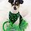 Thumbnail: Saint Patrick's Shamrocks Dog Bandana