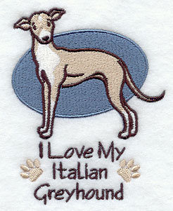 Image for Italian Greyhound Towel