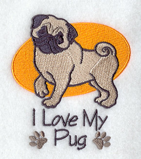 Image for Pug Towel