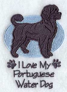 Image for Portuguese Water Dog Towel