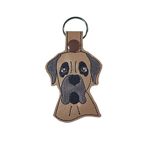 Bullmastiff Key Fob Gift for Dog Lovers
