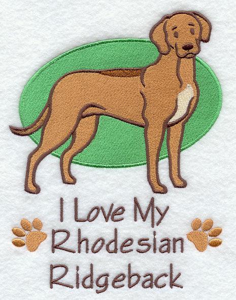 Image for Rhodesian Ridgeback Towel