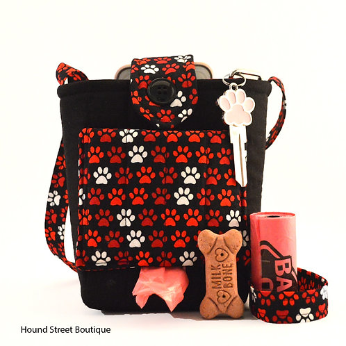 """Paws For a Moment"" Dog Walking Bag"