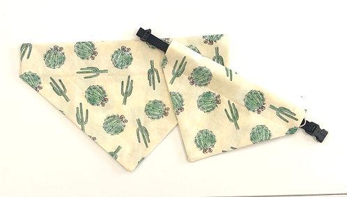 Cactus Medley Over The Collar Dog Bandana