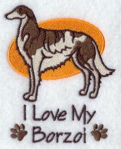 Image for Borzoi Towel