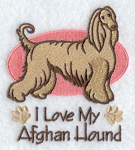 Image for Afghan Hound Towel