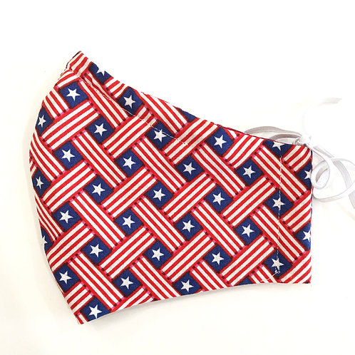 Fabric Face Mask - With Filter - Multiple Fabrics