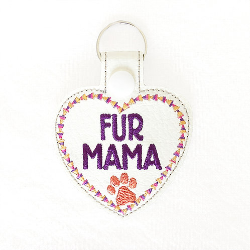 Fur Mama Key Fob