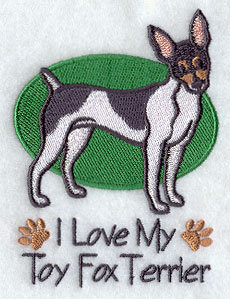 Image for Toy Fox Terrier Towel