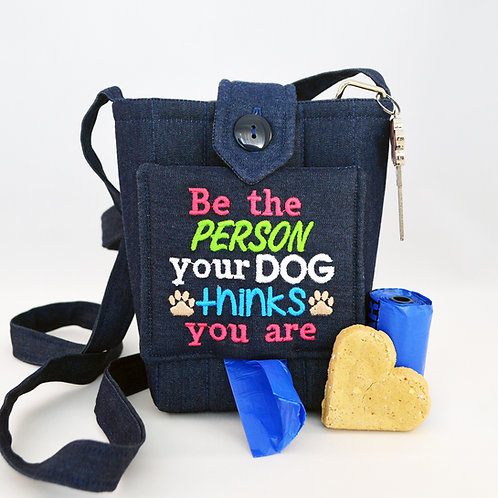Dog Walking Bag - Embroidered