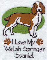 Image for Welsh Springer Spaniel Towel