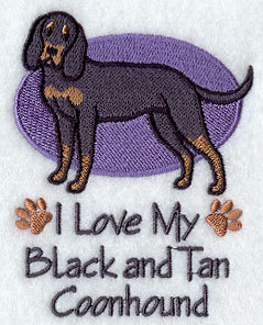 Image for Black and Tan Coonhound Towel