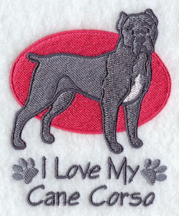 Image for Cane Corso Towel