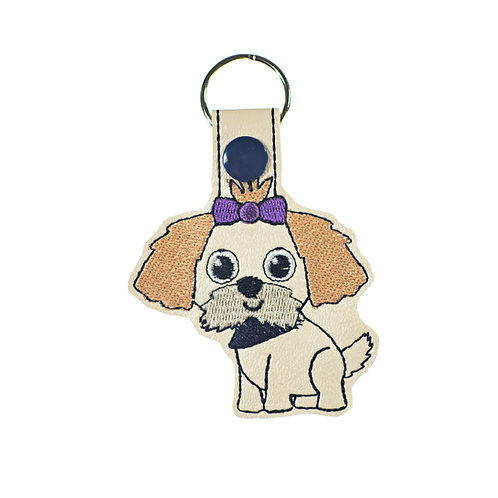 Shih Tzu Key Fob or Luggage Tag