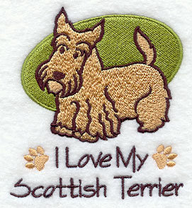 Scottish Terrier Towel