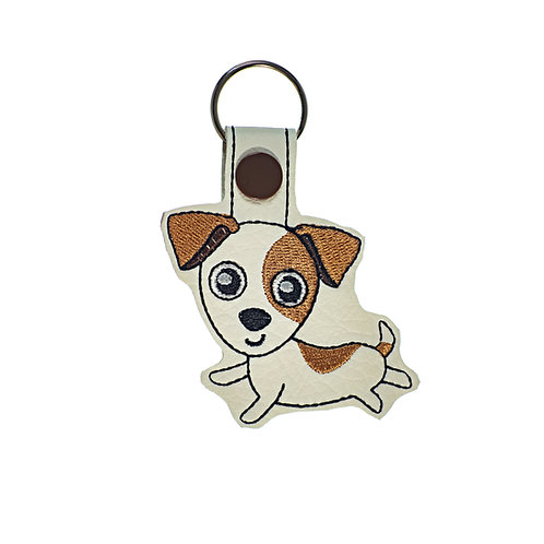 Jack Russel Key Fob Gift For Dog Lovers